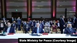 نشست افتتاحیهگفتگوهای صلح افغانستاندر دوحه، پایتخت قطر