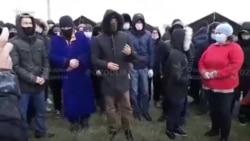 """Маштаково""да яна 200 яқин муҳожир палаткаларда қолди"
