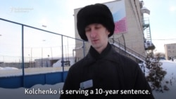 Ukrainian Political Activist Kolchenko Describes Russian Prison Conditions