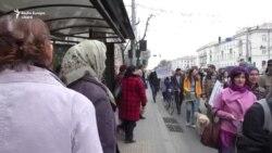 """Marșul Solidarității de 8 martie: """"Asta-i intervenția, ratificați Convenția!"""""""