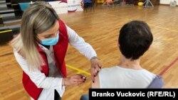 Vakcinacija protiv COVID-a 19 u Kragujevcu (februar 2021.)