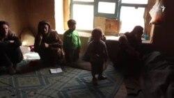 مرگ یک خانم در اثر فقر در ولایت غور
