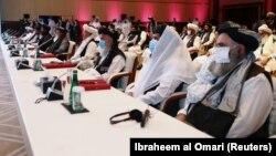 نشست مذاکراتبین افغانها در قطر