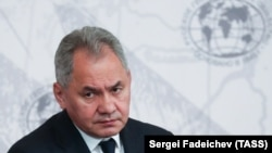 Ресей қорғаныс министрі Сергей Шойгу.