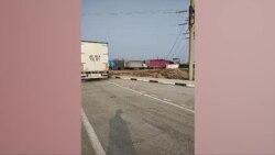 На узбекско-казахской границе застряли сотни грузовых автомашин
