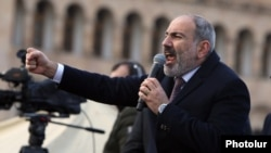 Премьер-министр Армении Никол Пашинян. Ереван, 25 февраля 2021
