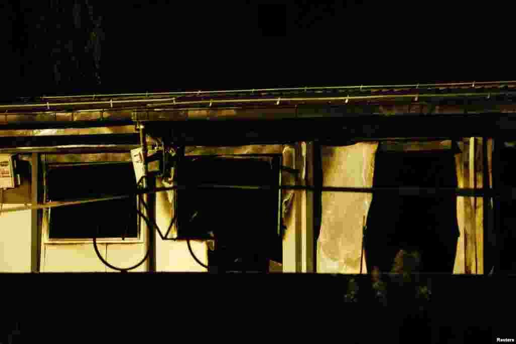 Izgorjela COVID bolnica
