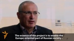 Khodorkovsky's Open Russia Project Aims To Be 'Political Force'