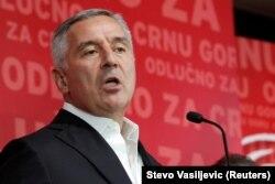 Montenegrin President Milo Djukanovic