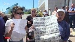 Хождение в канцелярию Назарбаева несогласных с решениями судов