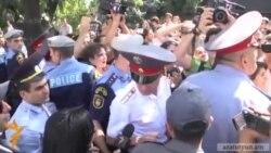 Протест проти Митного союзу у Вірменії