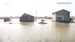 Паводки и подтопления близ Алматы