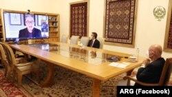 کنفرانس ویدیوی رئیس جمهور افغانستان در نشست عمومی اقتصادی جهان
