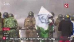 Лукашенко, протесты, демонстрация силы