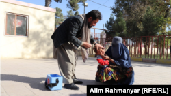 آرشیف، تطبیق واکسین پولیو در افغانستان