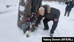 Акция памяти Немцова в Архангельске