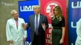 Trump Visits Las Vegas After Massacre