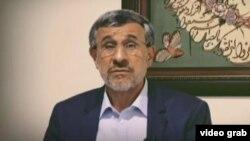 صحنهای از گزارش ویدئویی محمود احمدینژاد