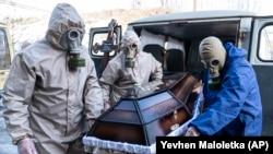 آرشیف، بیمار ویروس کرونا در اوکراین