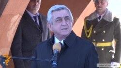Սերժ Սարգսյան․ «Հայաստանը եղբայր Ֆրանսիայի կողքին է»