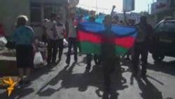 """Акция 19 июня - станция метро """"Иншаатчылар"""""""