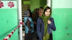 Young Afghan Woman Votes To Bring Better Future To Afghanistan