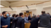 The incident erupted after a deadline set by protesters for Prime Minister Irakli Gharibashvili and his government to step down passed on July 12.