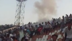 Riot In The Stands In Tajikistan