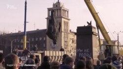 «Ленінопад»: від спіритичного сеансу з Леніним до декомунізації (відео)