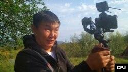 Russian blogger and journalist Dmitry Bairov (file photo)