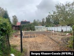 Дачный поселок «Приозёрный», на этом участке работали задержанные по подозрению в убийстве Натальи Ерёмкиной.