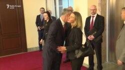 Mogherini takohet me pushtetin dhe opozitën në Prishtinë