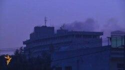نیروهای طالبان به هتلی مجلل در کابل حمله کردند