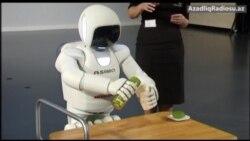 Ən son robot - humanoid