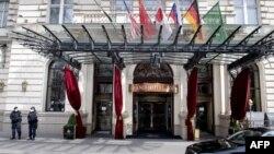 Vyanada nüvə danışıqlarının keçirildiyi Grand Hotel