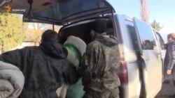 Zaporojye göñüllileri Qırım qamaçavına yardım ettiler