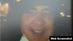 Szaakasvili október 1-jén megjelent videójában