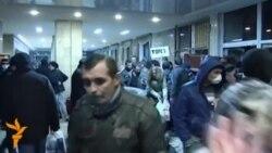 Донецк әкімшілігін ресейшілдер басып алды