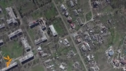 Drone Footage Shows Extent Of Damage To Ukrainian Village