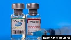 АҚШда ишлаб чиқарилган вакциналар.