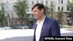 Dmitry Gudkov spoke to Current Time from Kyiv on June 7.