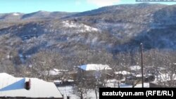 Вид села Шурнух Сюникской области Армении