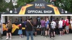 Болельщики разочарованы финалом Лиги Европы в Баку