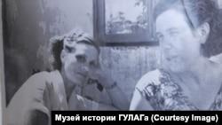 Tamara Filatova (left) in an undated photo