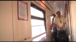 Петр Офицеров на Ярославском вокзале