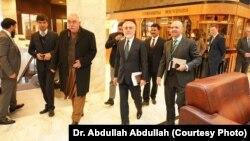 اعضای هیئت افغانستان در نشست مسکو