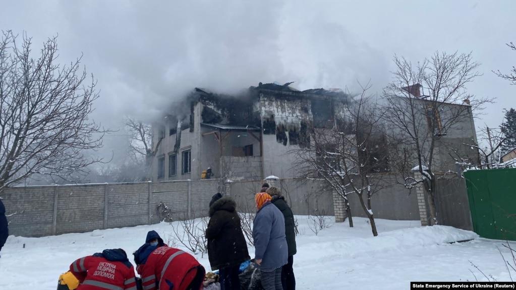 Пожежа сталася вдень 21 січня, загинули 15 людей