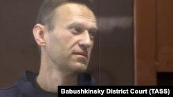 Алексей Навальный в зале суда, 5 февраля 2021 года.