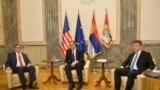 Palmer i Lajčak sa državnim vrhom Srbije o nastavku dijaloga sa Kosovom