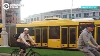 Власти Беларуси задерживают велосипедистов